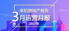 2017年3月份耒阳房地产数据月报