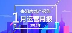 2017年1月份耒阳房地产数据月报