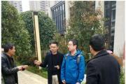 园林景观需要精益求精 香港杰弗瑞园林景观设计公司首席设计师亲临愿景铂悦府