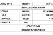 耒阳市出让土地成交结果公示 (网挂【2019】304号)