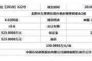 耒阳市出让土地成交结果公示(网挂【2019】322号)