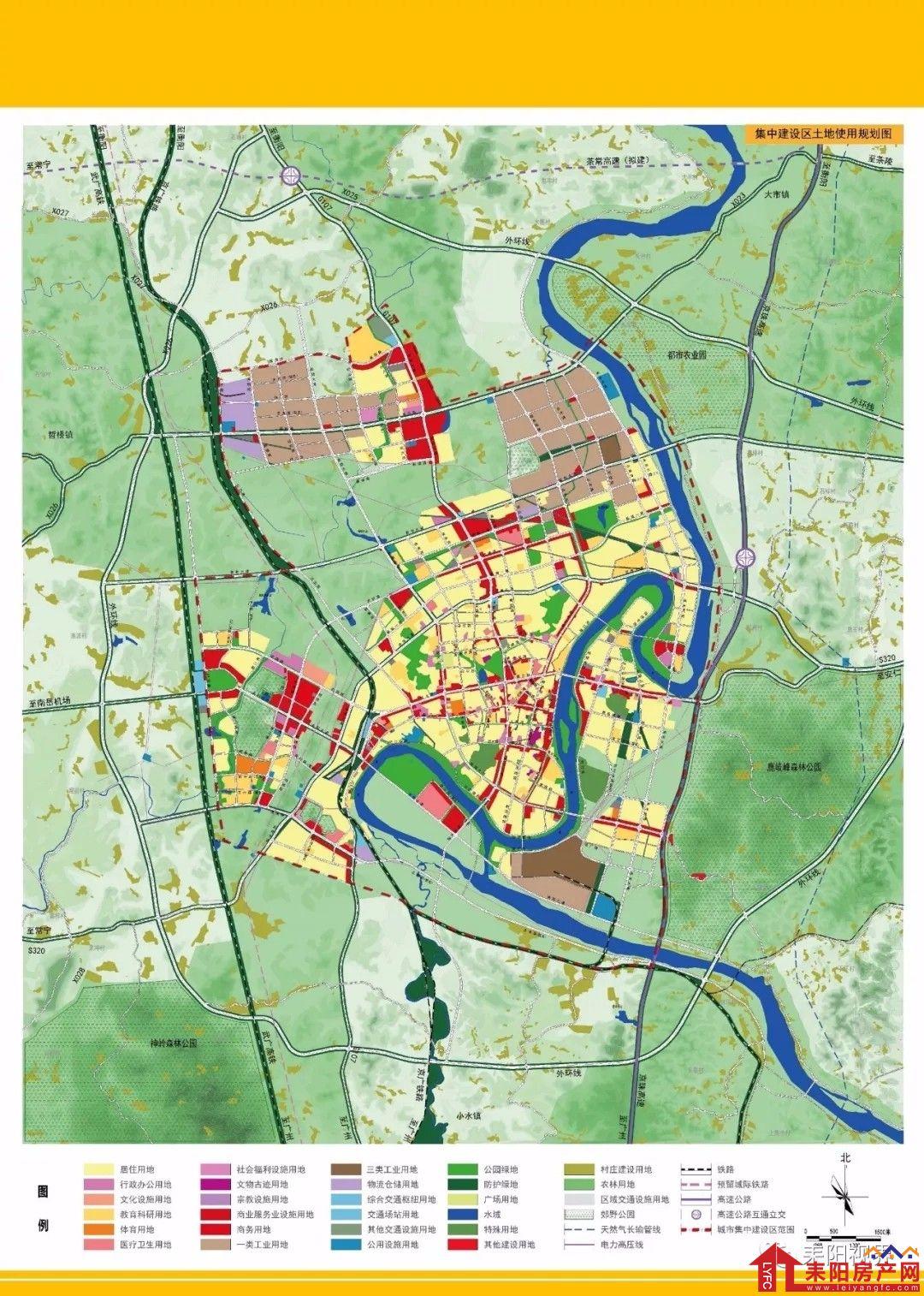 耒阳城区人口_2030年,耒阳城区人口65万 住哪里才是市中心 内含高清规划图